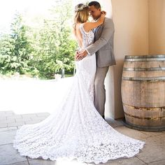 How  romantic  #PninaBride: @moniquekover stunning on her big day : @amvproductions.ca