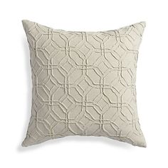 "Theo Ivory 18"" Pillow  