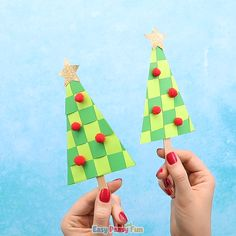 Paper weaving is something younger kids really have fun making, so this Paper Weaving Christmas Tree Craft for kids makes a great project to do during the holidays or in your classroom. For Kids videos Paper Weaving Christmas Tree Craft for Kids Handmade Christmas Crafts, Christmas Crafts For Kids To Make, Crochet Christmas Ornaments, Christmas Tree Crafts, Kids Christmas, Handmade Crafts, Christmas Decorations, Christmas Cookies, Paper Crafts For Kids