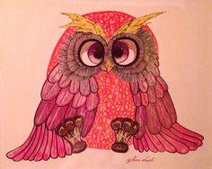 'Owl' by Glenn Heath