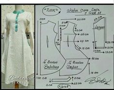 Sewing Fashion Patterns Costura 40 Ideas For 2019 Sewing Clothes, Diy Clothes, Estilo Abaya, Clothing Patterns, Sewing Patterns, Dress Making Patterns, Tunic Pattern, Sewing Lessons, Fashion Sewing