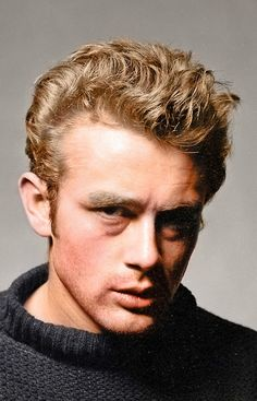 James Dean. Photo by Roy Schatt (1954 Torn Sweater series)