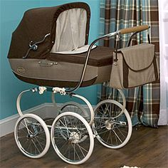 Love old style strollers