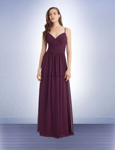 Color: Eggplant (Michal) Bridesmaid Dress Style 1113 - Bridesmaid Dresses by Bill Levkoff