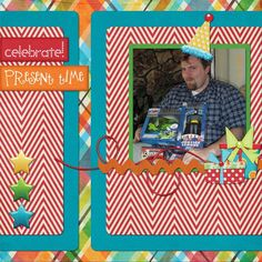 """created with The Kit Cart's """"Let's Celebrate"""" #thestudio #digitalscrapbooking"""