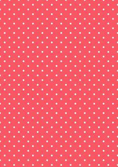 Cicideko - Red Polka Dot Digital Paper