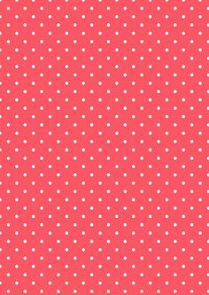 Cicideko - Digital Polka Dot Red Paper