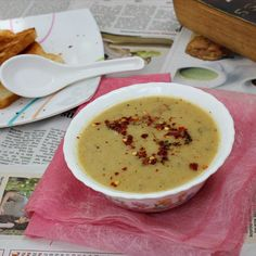 Turkish Red Lentil Soup with Sumac - A simply designed soup with very ...