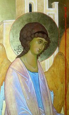 The Holy Trinity. Religious Icons, Religious Art, Byzantine Art, Art Icon, Gold Work, Orthodox Icons, Angel Art, Sacred Art, Christian Art