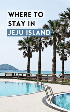 """Jeju Island is one of South Korea's most popular tourist destinations. With several UNESCO heritage sites, stunning natural landscapes, and historic spots, there's so much to see in this """"island of the gods."""" To make the most of your vacation, check out this guide to find out where to stay in Jeju."""