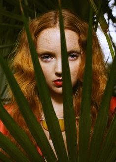 Lily Cole photographed by Ami Sioux