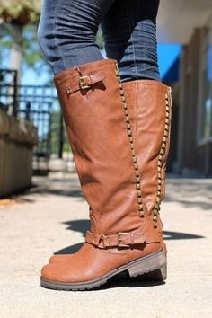 Studded Riding Boots Trooper-14