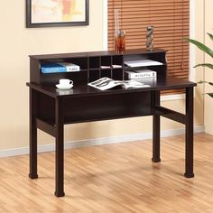hokku designs chelsia basic office desk with hutch reviews wayfair 185 basic office desk