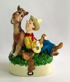 Vintage George Good #MamaDon'tLetYourBabiesGrowUptoBeCowboys #Music Box #GeorgeGood