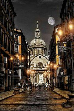 Big Ben, Notre Dame, Building, Travel, Facebook, Pageant Photography, Zaragoza, Monuments, Street