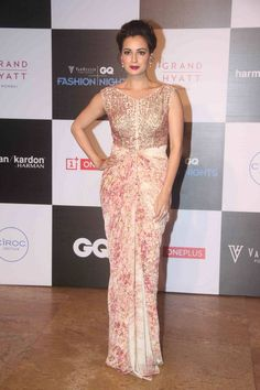 Dia Mirza at the Van Heusen GQ Fashion Nights 2015. #Bollywood #Fashion #Style #Beauty #Hot #Cute