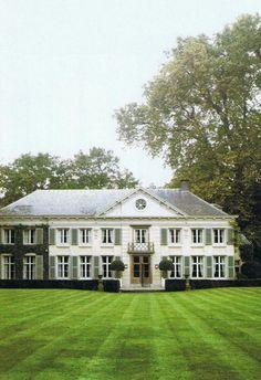 Belgian villa, Rozenhout, c. 1790