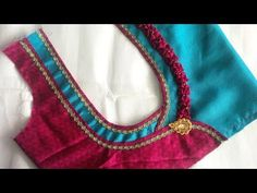new model patch work blouse designe cutting and stitching - YouTube