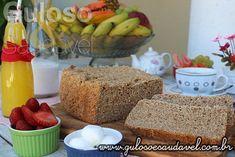 Receita de Pão Integral 3 Farinhas na Máquina de Fazer Pão