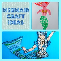 Fun Mermaid Crafts for Kids and Adults