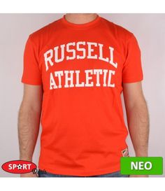 RUSSELL ATHLETIC T/S ΠΟΡΤΟΚΑΛΙ ΑΝΔΡΙΚΟ ΒΑΜΒΑΚΕΡΟ