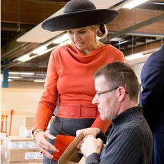 Queen Maxima visits the Veenkoloniaal Museum 16 februari 2015