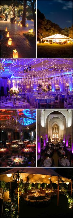 Wedding Reception Lighting: An Essential Ingredient - Project Wedding