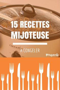 C'est Bon, Slow Cooker, Frozen, Meals, Crockpot, Recipes, French, Food, Vegetarische Rezepte