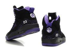 Purple Jordan Girls Basketball Shoes | Dates 2012|Air Jordan 3.5 Retro Womens Basketball Shoes Black Purple ...