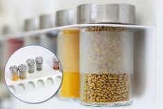 Weiteres - Gewürzhalter/ Gewürzregal für Ikea Droppar Gläser - ein Designerstück von NewSwedishDesign bei DaWanda