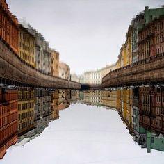 Река Мойка, Санкт-Петербург. Автор фото: Сергей Полянский.