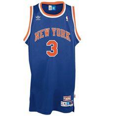 New York Knicks John Starks Blue NBA Swingman Jersey