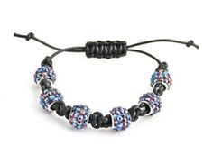 Crystal Ball Macramé bracelet by @Denise Yezbak Moore made with #Sophisticate Chic beads available @Michaels Stores.