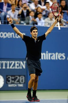 The world's number four player is bringing grand slam style on and off the court. Mr Perfect, Match Point, Roger Federer, Tennis Players, Tennis Racket, Sports And Politics, Famous People, Celebrity Style, Sneakers Nike