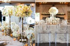 "Weddings in Woodinville 2015 DeLille Cellars ""Gold and Glamourous"" theme from Jacky Grotle of Event Success.   Venue Design: Event Success Photography: The Popes"