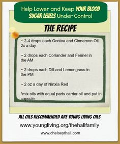 Essential Oils for Diabetes youngliving.org/cheeki or email cheeki@rosemary.reeves.com