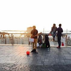 Hey all, Abraham here enjoying great music in the streets of Tel Aviv! Have a great weekend
