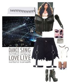 """""""Concert w/ the girls"""" by purplemonkeys005 ❤ liked on Polyvore featuring Charlotte Russe, Luichiny, Pilot, Brewster Home Fashions, maurices and aphrodite"""