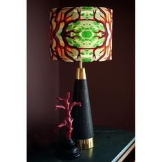 Dark Hallway, Cabinet Of Curiosities, Lamp Bases, Color Patterns, Table Lamp, Coral, Velvet, Interior, Design