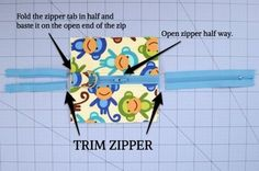 Possibly the clearest zipper tutorial ever!