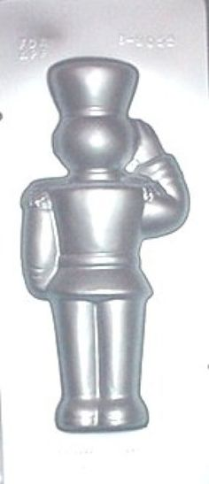"Extra Large 12 1/2"" Toy Soldier Back Chocolate Candy Mold Christmas"