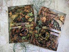 Hi Scrapiniec Fans! Yesterday one of my colleagues showed me a small hobbit house for ch. My Scrapbook, The Hobbit, Scrapbooks, Altered Art, City Photo, Mixed Media, Art Journaling, Cards, Inspiration