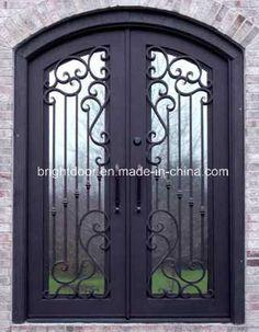 Elegant Iron Entry Doors Prices