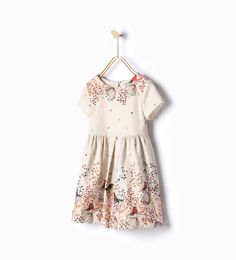 70a4f25b0 Birds dress - View all - Dresses and Jumpsuits - Girl - 14 years) - KIDS
