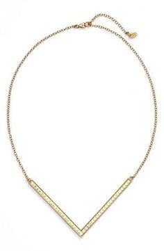 Anna Beck - Gili Large Reversible V Necklace