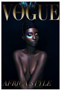 Mario Epanya for Vogue Africa Plus