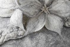 Handmade felted wallhangings, footstools, cushions and other home accessories designed by Artisan Feltmaker Dyane Brown. Felt Flowers, Home Accessories, Archive, Gallery, Beautiful, Artists, Craft, Felted Flowers, Roof Rack