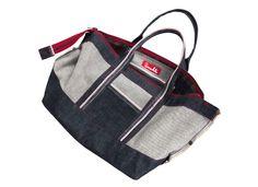 Selvedge Denim Bag © 2012 Pumukli by Tatiana Goldmannova Denim Bag, Gym Bag, Unisex, Bags, Jean Bag, Handbags, Duffle Bags, Totes, Hand Bags