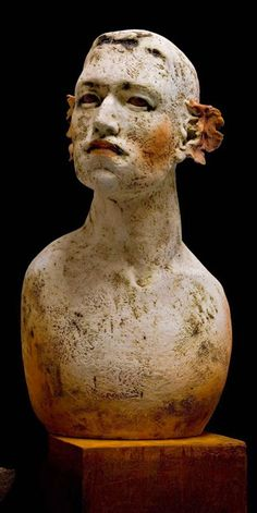 El Arte en la Vida: Ana Rosenzweig - Escultora Mexicana Plaster Sculpture, Plaster Art, Sculpture Art, Ceramic Sculptures, Play Clay, Ceramic Figures, Ceramic Clay, Art Dolls, Anatomy