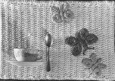 Crochet Butterfly Placemats